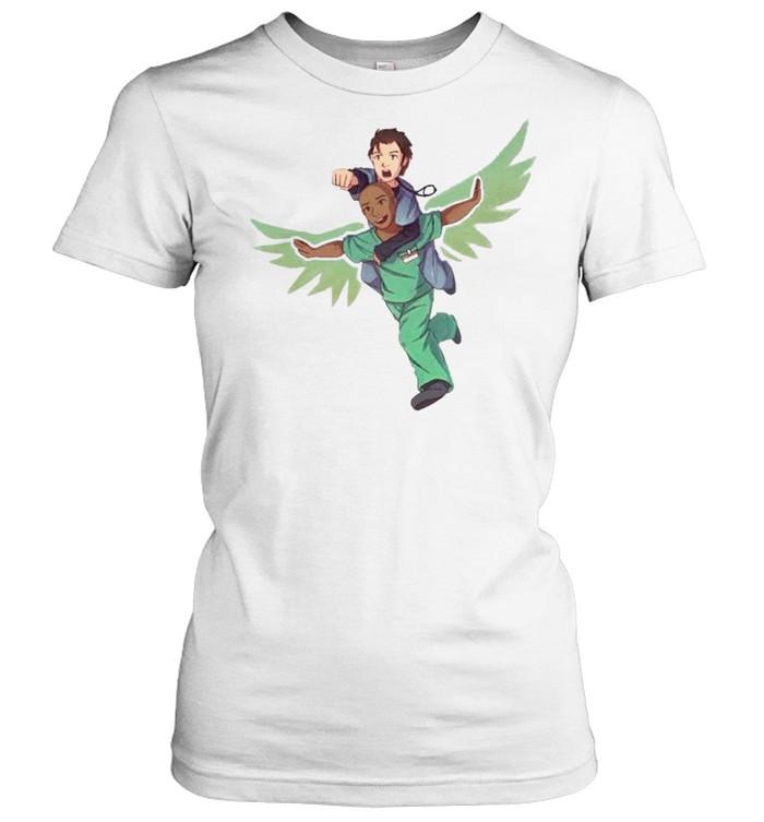 Fake doctors real friends eaaagle shirt Classic Women's T-shirt
