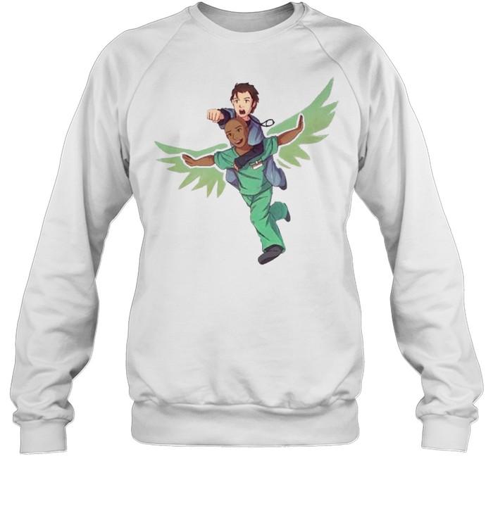 Fake doctors real friends eaaagle shirt Unisex Sweatshirt