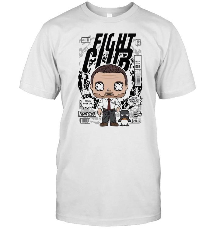 Fight club famous comic book poster unisex shirt Classic Men's T-shirt
