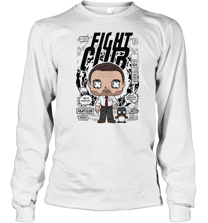 Fight club famous comic book poster unisex shirt Long Sleeved T-shirt