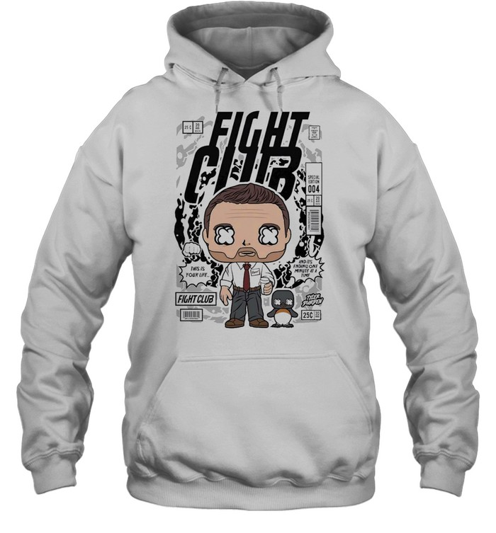 Fight club famous comic book poster unisex shirt Unisex Hoodie