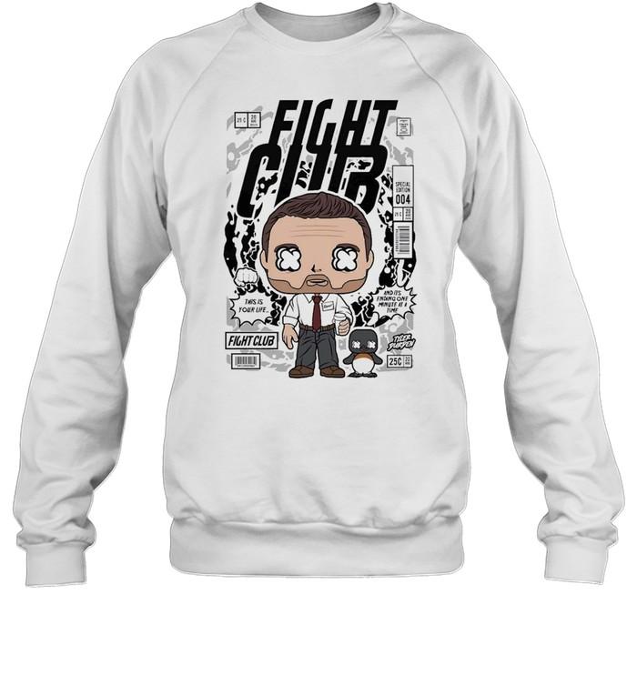 Fight club famous comic book poster unisex shirt Unisex Sweatshirt