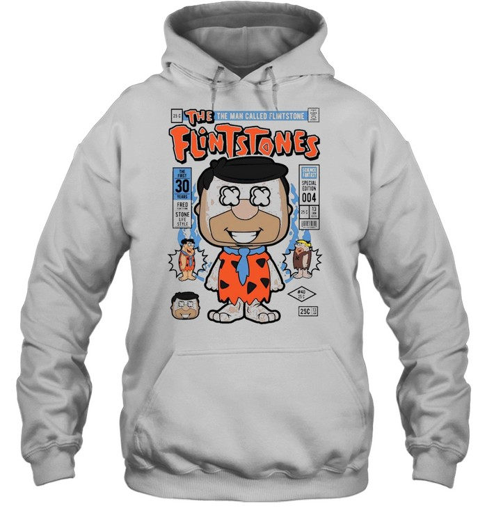 Fred flint famous comic book poster shirt Unisex Hoodie