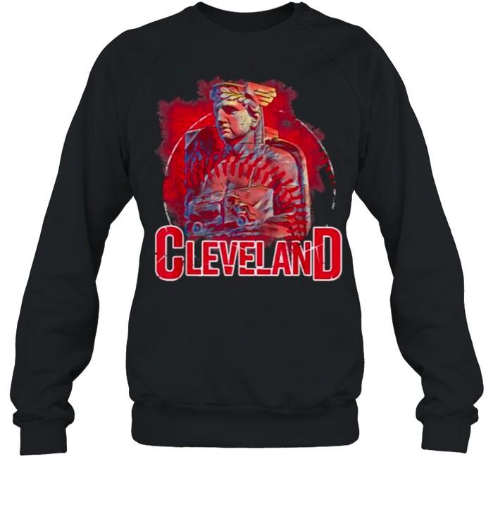 Vintage Cleveland Ohio Baseball Hope T- Unisex Sweatshirt