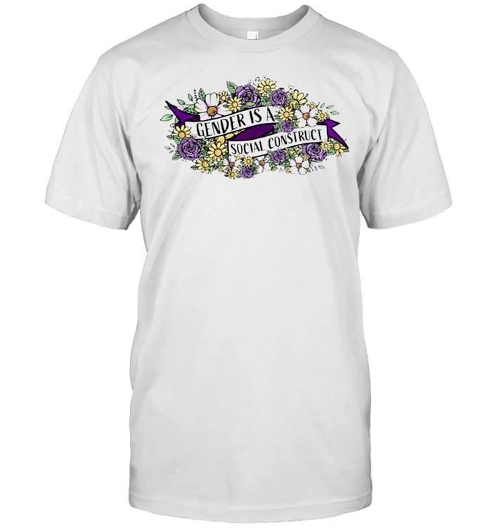 Gender is a social construct shirt Classic Men's T-shirt