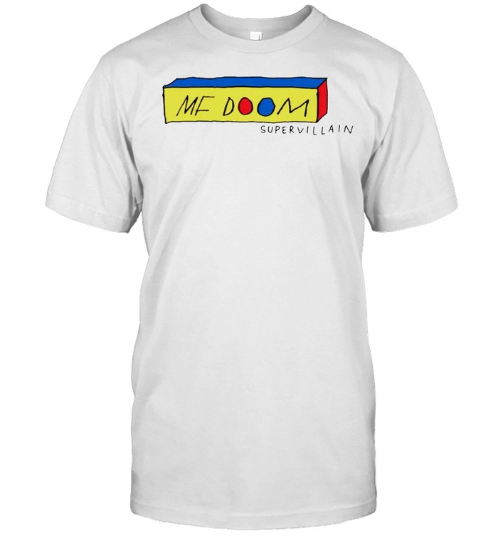 Mf Doom supervillain gasdrawls shirt Classic Men's T-shirt