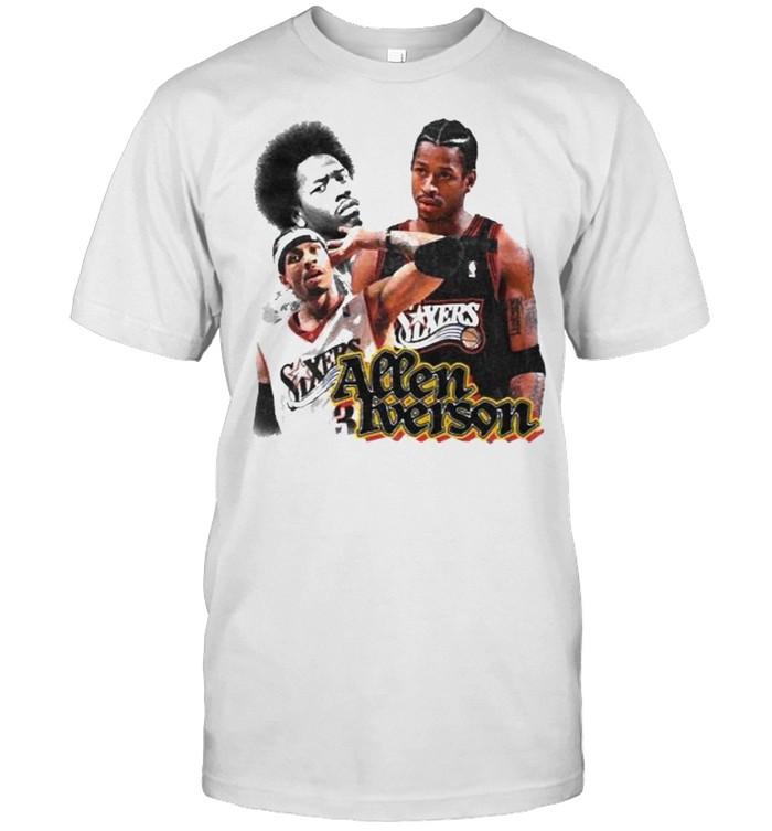 Allen Iverson Sixers  Classic Men's T-shirt