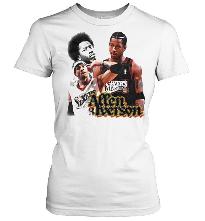 Allen Iverson Sixers  Classic Women's T-shirt