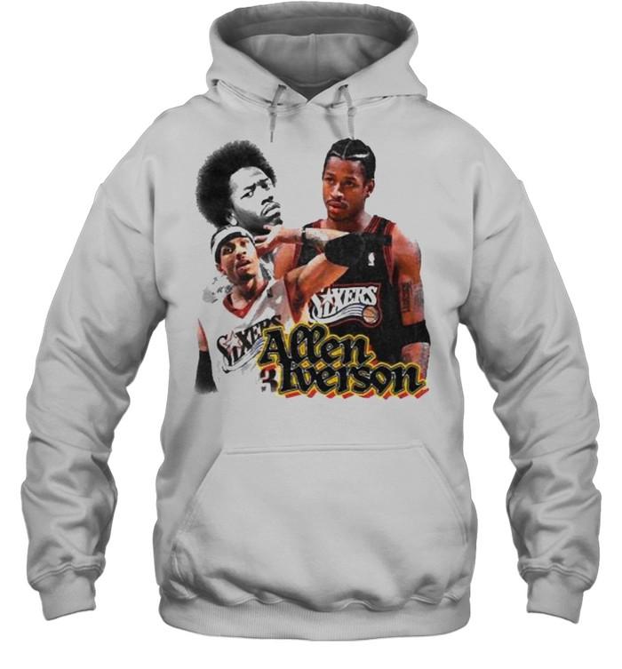 Allen Iverson Sixers  Unisex Hoodie
