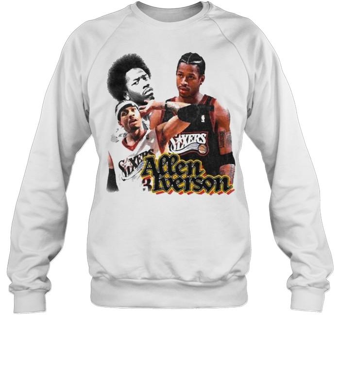 Allen Iverson Sixers  Unisex Sweatshirt