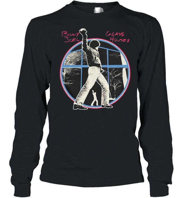 Billy Joel Glass Houses Album T-shirt Long Sleeved T-shirt