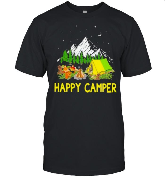 Happy Camper Camping  Classic Men's T-shirt