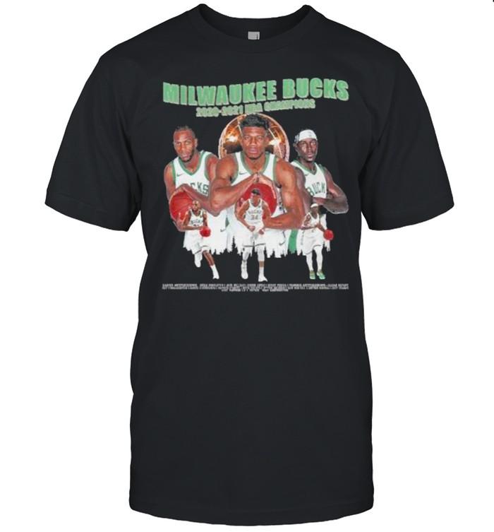 Milwaukee Bucks Championship 2020 2021  Classic Men's T-shirt