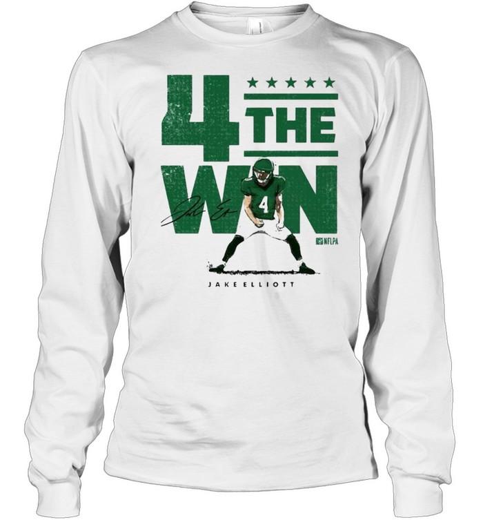 Nick Sirianni 4 the win shirt Long Sleeved T-shirt