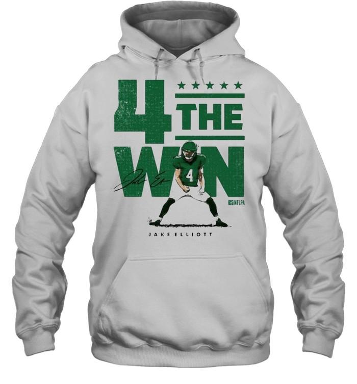 Nick Sirianni 4 the win shirt Unisex Hoodie
