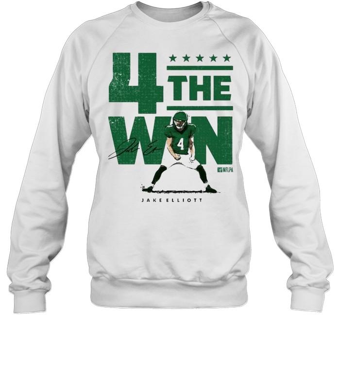 Nick Sirianni 4 the win shirt Unisex Sweatshirt