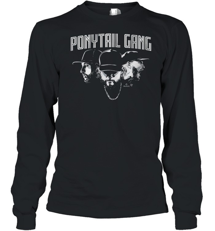 Ponytail Gang, Kopech Kimbrel And Hendriks shirt Long Sleeved T-shirt