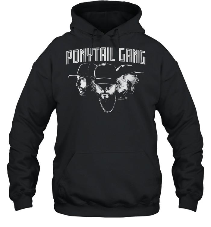 Ponytail Gang, Kopech Kimbrel And Hendriks shirt Unisex Hoodie