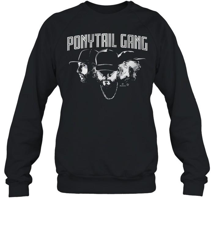 Ponytail Gang, Kopech Kimbrel And Hendriks shirt Unisex Sweatshirt