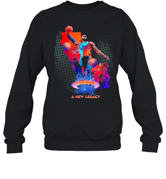 Space Jam Lebron James A New Legacy  Unisex Sweatshirt