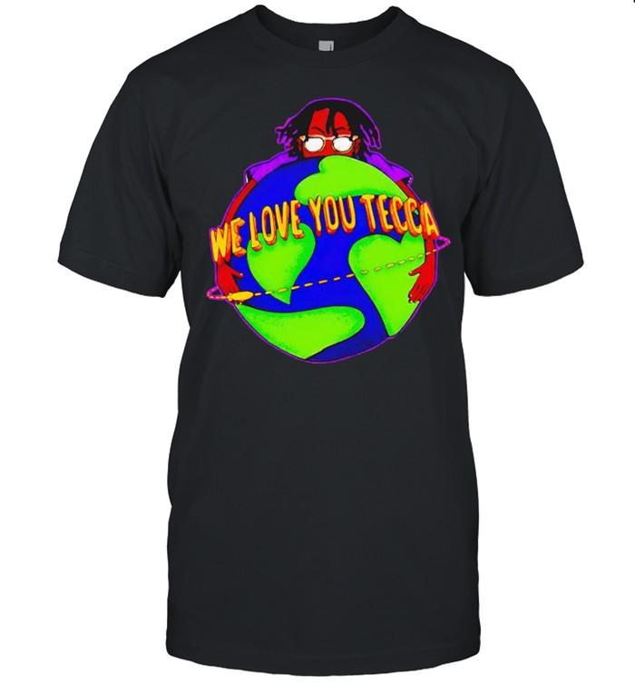 We love you Tecca shirt Classic Men's T-shirt
