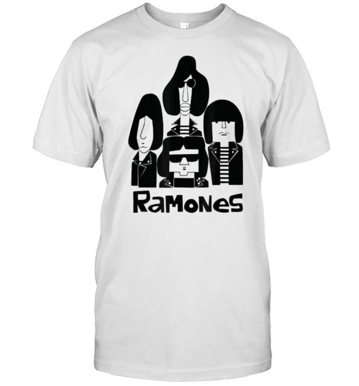 Graphic ramones shirt Arts Leave retro Home T- Classic Men's T-shirt