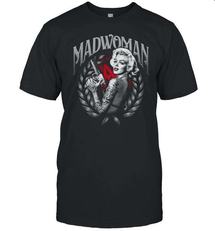 Koszulka Damska Marilyn Monroe Madwoman T-shirt Classic Men's T-shirt