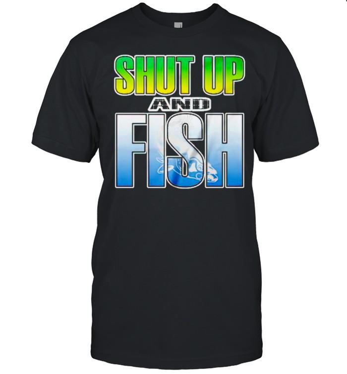 Shut Up and Fish shirt Classic Men's T-shirt