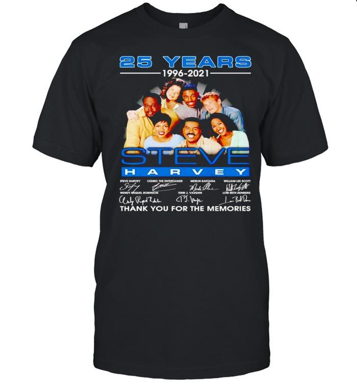 25 years 1996 2021 Steve Harvey thank you for the memories shirt Classic Men's T-shirt