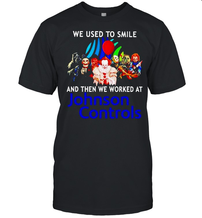 Horror Halloween we used to smile and then we worked at Johnson Controls shirt Classic Men's T-shirt