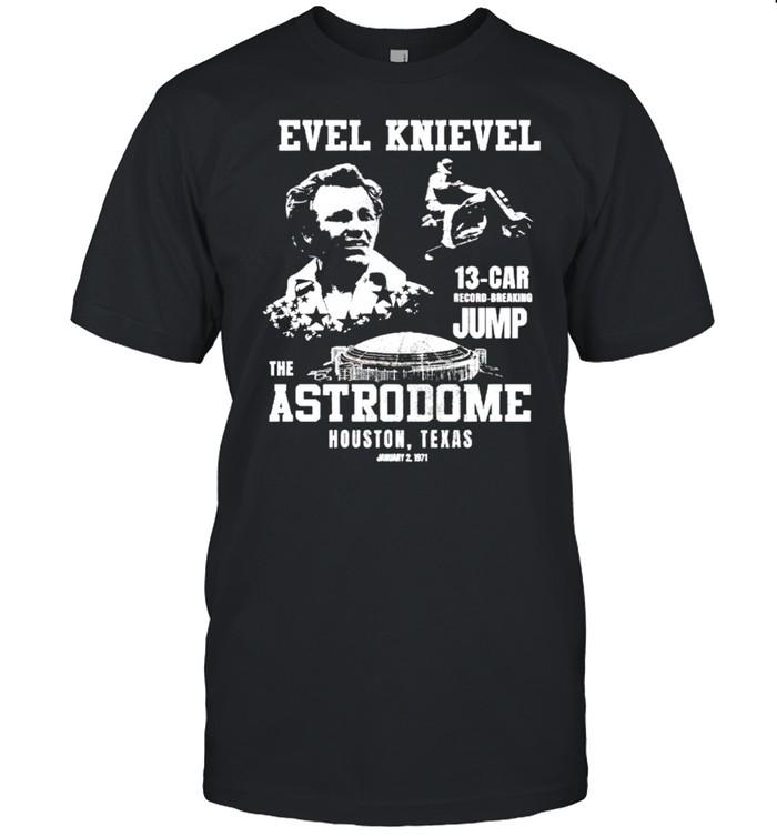 Evel Knievel the Astrodome Houston Texas shirt Classic Men's T-shirt