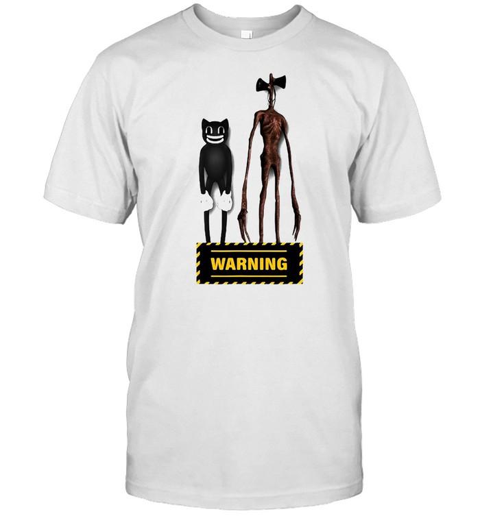 Sirenhead Siren Head Creepy Horror Character Are You Afraid T-shirt Classic Men's T-shirt
