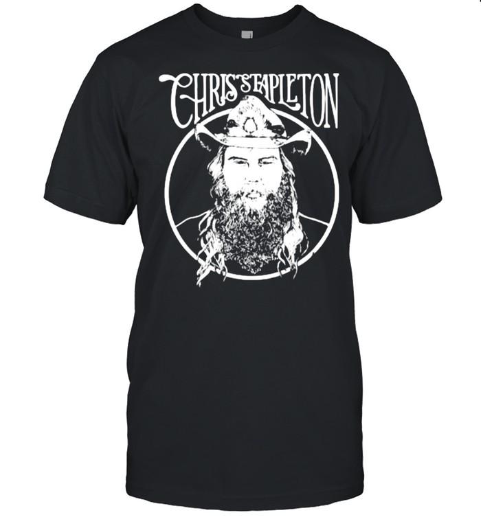 Chris Stapieton Cowboy Hat T- Classic Men's T-shirt