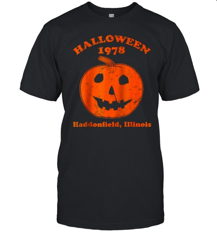 Halloween 1978 haddonfield pumpkin T- Classic Men's T-shirt