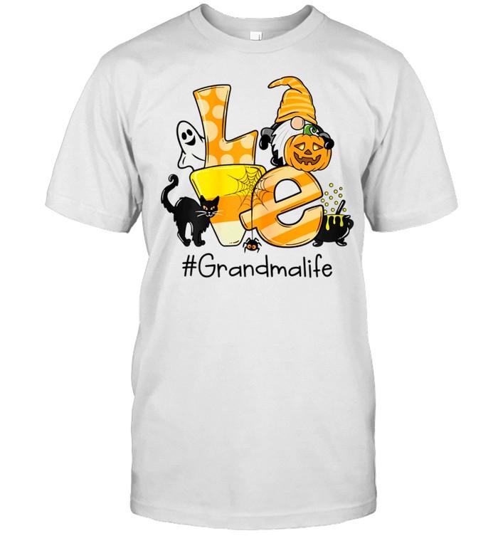 Love Grandma Life Gnome Art Halloween Art shirt Classic Men's T-shirt