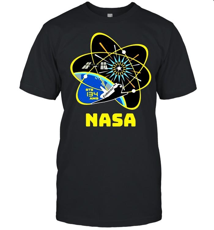 Mission Patch Astronaut Patch Nasa T-shirt Classic Men's T-shirt