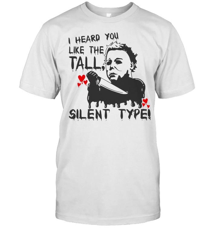 I Heard You Like The Tall Silent Type Halloween T-shirt Classic Men's T-shirt
