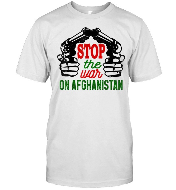 Stop The War On Afghanistan Freedom Afghanistan Gift  Classic Men's T-shirt