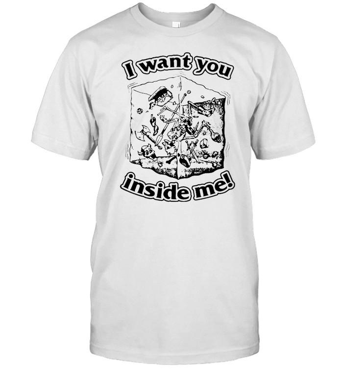 Dungeons & Dragons I want you inside me shirt Classic Men's T-shirt