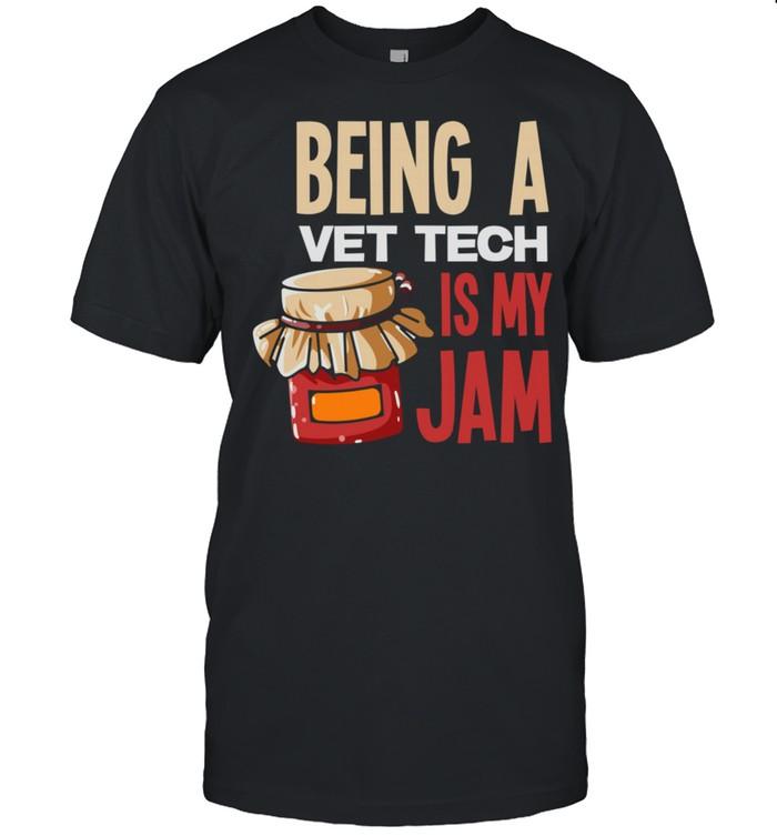 Pride Vet Tech Jam Veterinary Technician shirt Classic Men's T-shirt