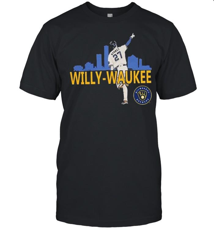Milwaukee Brewers Willy -Waukee Tee  Classic Men's T-shirt