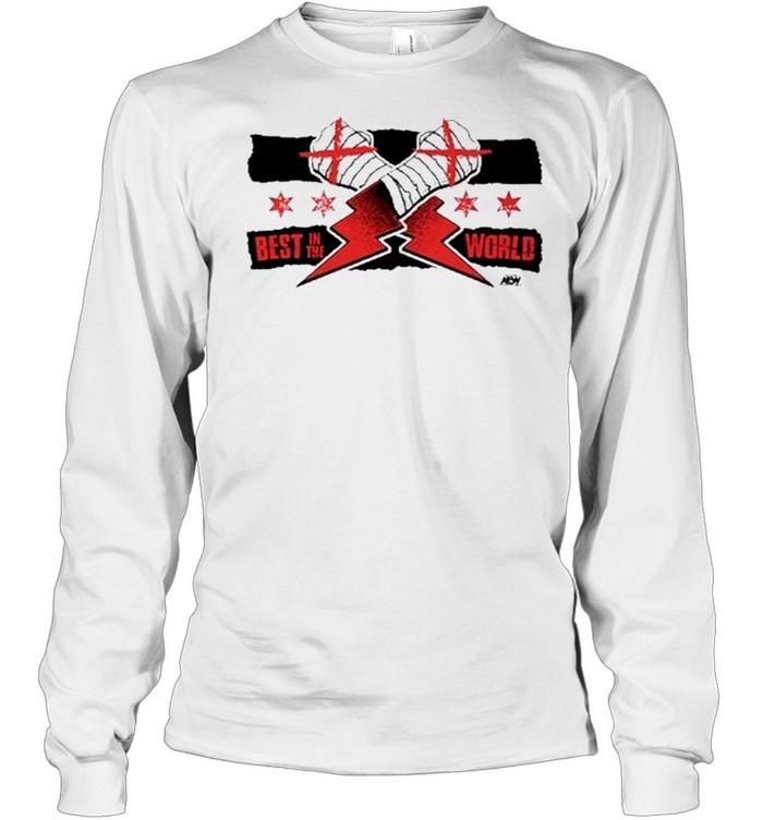 Aew Wrestling Cm Punk New shirt Long Sleeved T-shirt