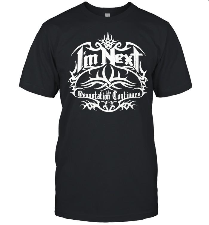Goldberg I'm next the Devastation Continues shirt Classic Men's T-shirt