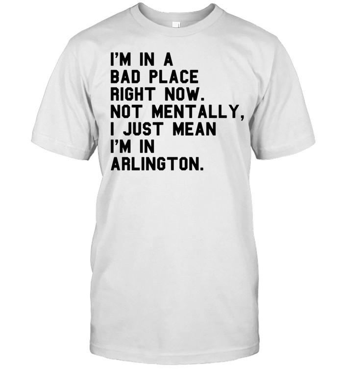ARLINGTON TX TEXAS Sarcasm City Visiting Home Hometown shirt Classic Men's T-shirt