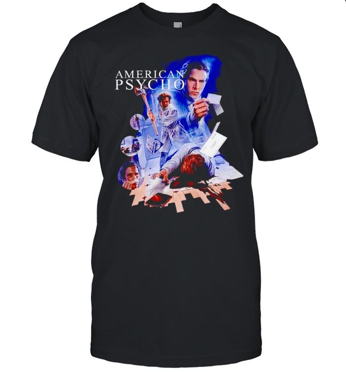 American Psycho killer Halloween shirt Classic Men's T-shirt