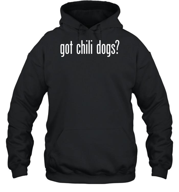 Got Chili Dogs Retro Advert Ad Parody shirt Unisex Hoodie