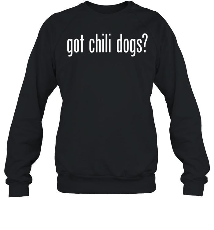 Got Chili Dogs Retro Advert Ad Parody shirt Unisex Sweatshirt