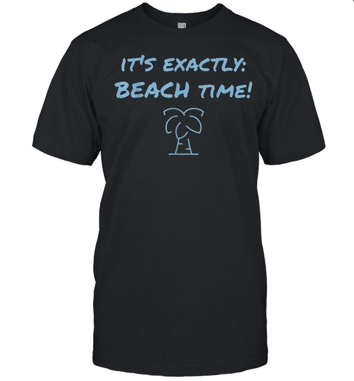 It's exactly beach time funny summer shirt Classic Men's T-shirt