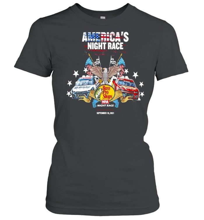 America's night race Bass Pro Shops night race shirt Classic Women's T-shirt