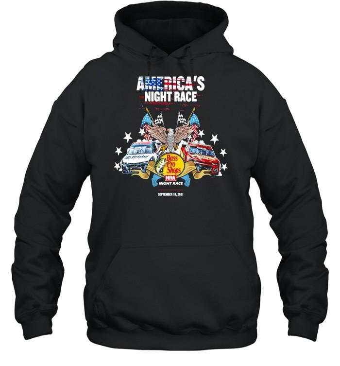 America's night race Bass Pro Shops night race shirt Unisex Hoodie